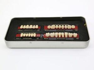 1-box-set-new-Dental-False-Tooth-Teeth-Denture-M32-size-A2-color-28-pcs-Teeth