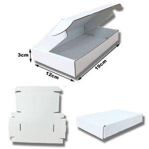 25-CAJAS-POSTALES-DE-CARToN-MICRO-CANAL-BLANCO-19x12x3cm-AUTOMONTABLES