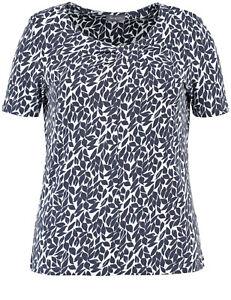 Damen Shirt Am Mit Ausschnitt Drapierung Weber Kurzarm Neu Gerry Gr By Samoon T7wqAW4BB