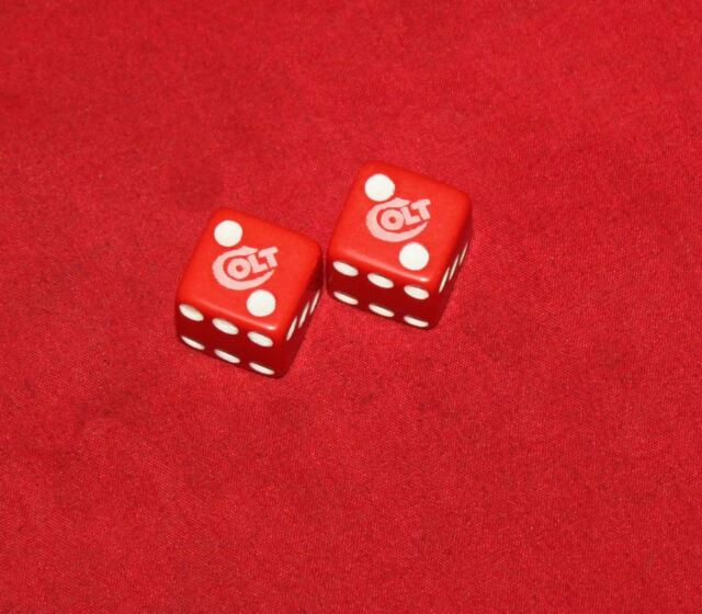 Colt Firearms Factory Red Dice