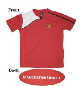 """c15e4aee3f7 Brand New"""" Official Manchester United FC Soccer Adult Poly Jersey 05 ..."""