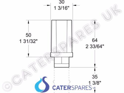 4 X 30mm Edelstahl Rechteckiger Tisch Beine Sechskant Verstellbar Knopf Fuß Füße