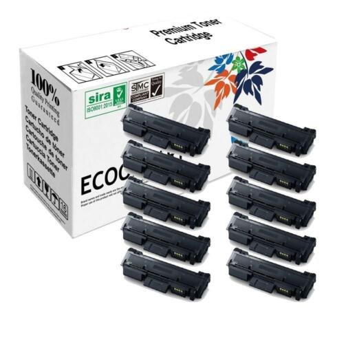 10 pk MLT-D116L Toner Cartridge for Samsung SL-M2835DW SL-M2885FW Printer