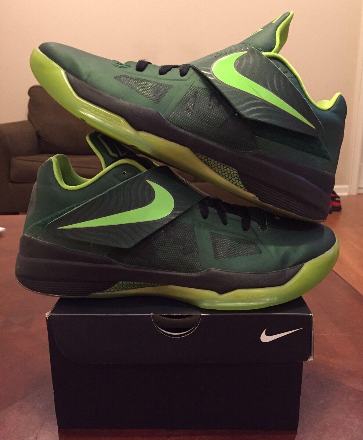 Nike KD 4 IV id oscuro Hulk verde oscuro id Cal Nerf 9 Jordan Yeezy BHM Pearl 6 7 8 Galaxy marca de descuento 7c01f7