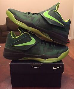 timeless design 86830 cbd41 Details about Nike KD 4 Iv ID Hulk Dark Green Lime Nerf 9 Jordan Yeezy Bhm  Pearl 6 7 8 Galaxy