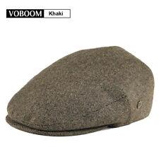 9e4d8f7536292 item 2 VOBOOM MENS IVY CAP 50% WOOL HERRINGBONE TWEED GATSBY CAP WARM  WINTER HAT 2 -VOBOOM MENS IVY CAP 50% WOOL HERRINGBONE TWEED GATSBY CAP WARM  WINTER ...