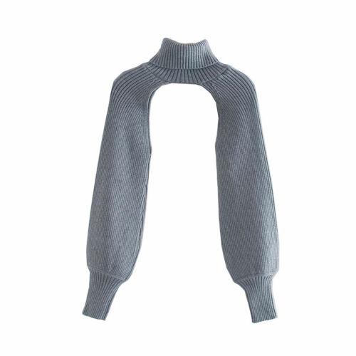 Women Turtleneck Sweater Knit Tops Long Sleeve Knit Pullover Knitwear Streetwear