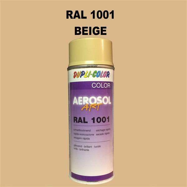 Dupli Color Pulvérisation 400ml Brillant Spray Peinture Ral 1001 Beige