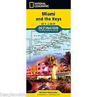 National Geographic Destination Travel Map Miami And The Keys Dm01020692