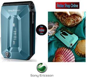 Sony-Ericsson-Jalou-F100i-Aquamarine-Ohne-Simlock-3G-3-2MP-Mini-Handy-GUT