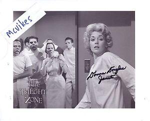 Donna-Douglas-034-The-Twilight-Zone-034-Autographed-8x10-Photo-1-COA-as-034-Janet-Tyler-034