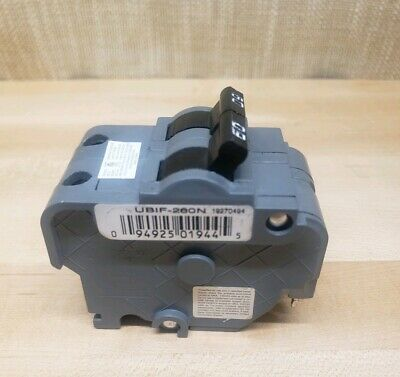 CONNECTICUT ELECTRIC 60 Amp Breaker UBIF-260N Federal Pacific Replacement