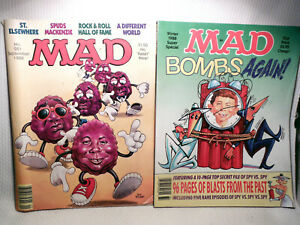 VINTAGE MAD MAGAZINES ~ 1988 ~  #281 & WINTER SUPER SPECIAL.