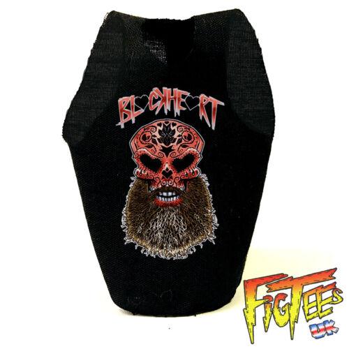 "Ciampa Blackheart 7/"" Elite Basic Retro Wrestling Action Figure T-Shirt"