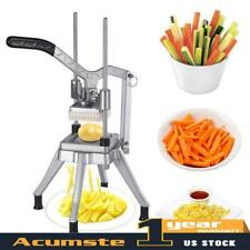 Blades Stainless Steel French Fry Cutter Potato Vegetable Slicer Chopper 38