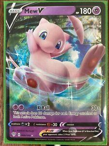 2020 Pokemon Darkness Ablaze 069//189 Mew V MINT
