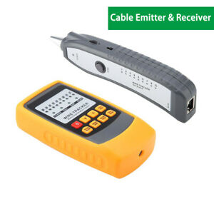 Network-RJ-Line-Finder-Cable-Tracker-Tester-Toner-Electric-Wire-Tracer-Pouch