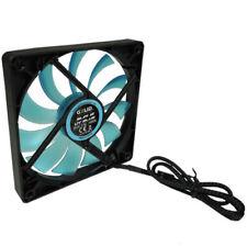 Gelid Solutions Slim 12 UV Blue, Silent 120mm UV Ultraviolet Reactive Case Fan