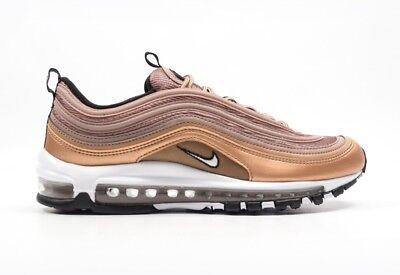 Nike AIR MAX 97 Scarpe da ginnastica rosso metallizzato bronzo UK7EU41US8 921826 200 | eBay
