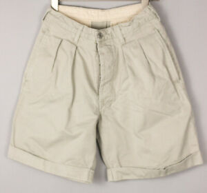 LEVI'S STRAUSS & CO Hommes Décontracté Chino Short Bermuda Taille W30 BDZ1238