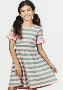 6b3e93148c8c NEW NWT Matilda Jane MJC Spring Collection Girls True North Dress 6 Pink  Green