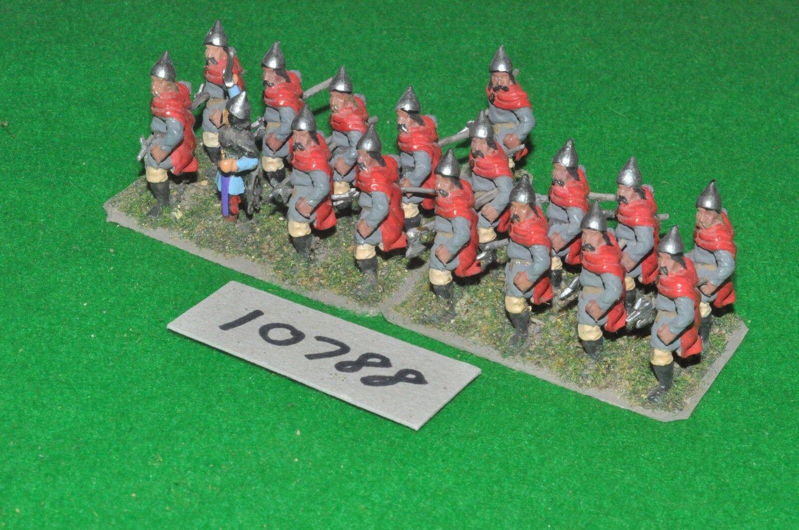 25mm dark ages   slav - infantry 17 figs - inf (10788)