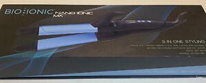Bio Ionic 3-1 Curler Wand Flat Iron NEW OPEN BOX