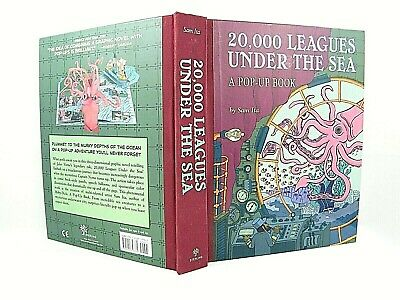 20 000 Leagues Under The Sea A Pop Up Book By Jules Verne Sam Ita 1st Vg 9781402757761 Ebay
