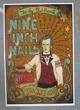NINE INCH NAILS CABAZON CA 2006 ORIGINAL CONCERT POSTER NIN GREALISH KEY CLUB