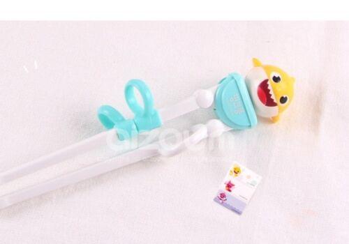 Pinkfong Baby Shark Kids Training Chopstick For Inteligence Korea 2 Colors