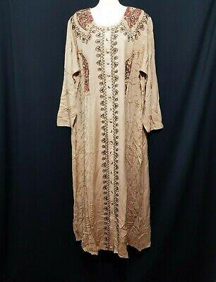 Abaya Maxikleid arabisch Kleid Gallaba Jellabiya Djellaba Abendkleid EID Gr 3XL