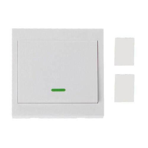 Funk Wand Lichtschalter Wandschalter 433MHZ für Empfänger Fernbedienung HH