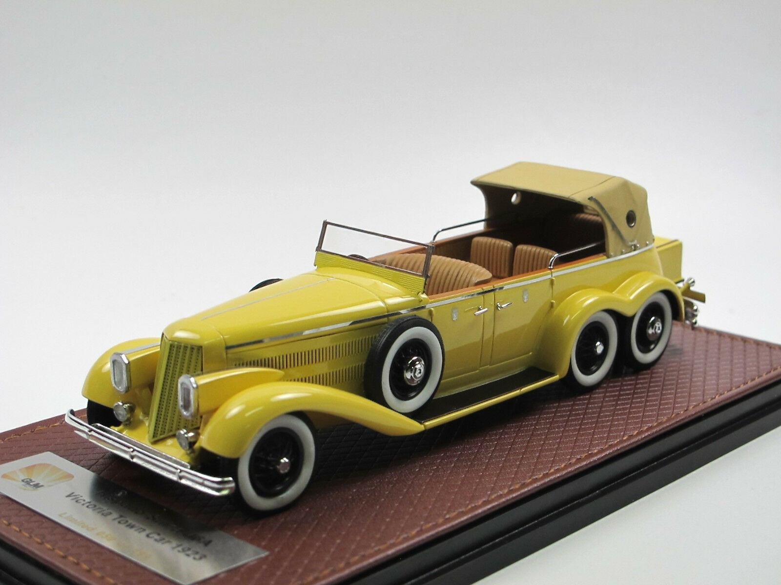 colorways incredibili GLM 1923 Hispano-Suiza h6a h6a h6a Victoria 6-Rueda Town auto closed Coupe de Ville 1 43  ultimi stili