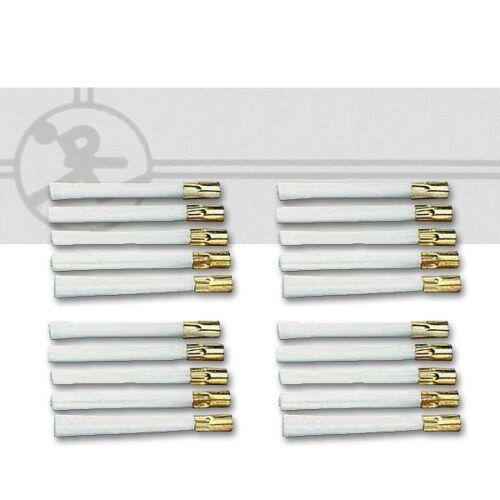 0,65€//Stück Ersatzglaspinsel Läufer 1020 20 Stück Ersatzfasereinsätze