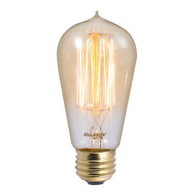 Black Dietz Lantern Converted into Electric Lamp Edison Light Bulb with Dimmer