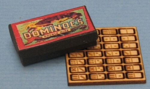 1:12 Scale Dollhouse Miniature Dominoes Kit New