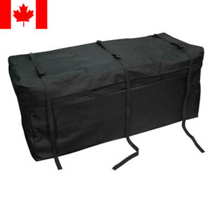 Expendable Cargo Carrier Bag Weather Proof Car Hitch Mount Luggage Roof Top Rack