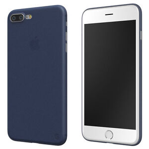 sortie de gros vraiment à l'aise grand choix de Dettagli su SWITCHEASY 0.35 ULTRA SLIM PP CASE COVER PER APPLE IPHONE 7  PLUS-BLU NOTTE- mostra il titolo originale