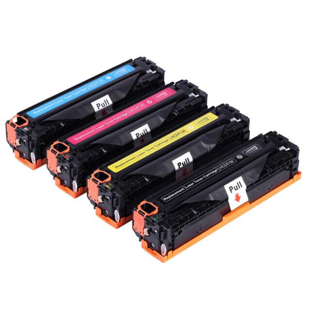 4x Toner Cartridge for HP CE410A CE410X CE411A CE412A CE413A 305A 305X M451 M475