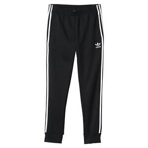 Détails sur Adidas Originals Hommes SST Track Pantalon De Survêtement Confortable Noir Superstar Retro NEUF afficher le titre d'origine