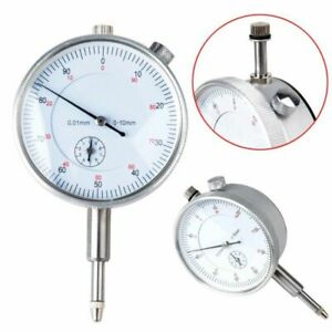 0-01mm-Test-Dial-Indicador-Calibrador-Reloj-Comparador-Con-Palpador-Precision