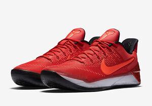 9494f8f83b5 Nike Men s Kobe A.D. University Red Crimson Black White 852425-608 ...