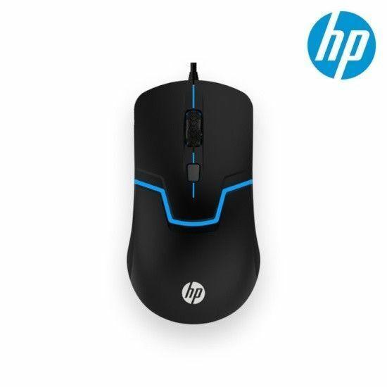 HP USB Wheel Optical Mouse USB Connect Light Weight For LaptopDesktop M100 n_o