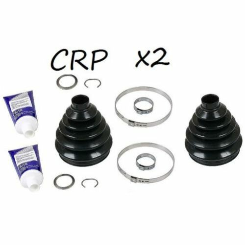 For Audi A3 TTQuattro Volkswagen Front Outer Joint Boot SET OF 2 CRP 1K0 498 203