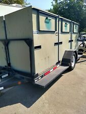 Pro Tainer Industries Recycling 6 Lockable Covered Trailer 2004