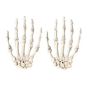 Crane-squelette-Os-de-la-main-humaine-Zombi-de-Toussaint-Accessoires-effray-M1E2