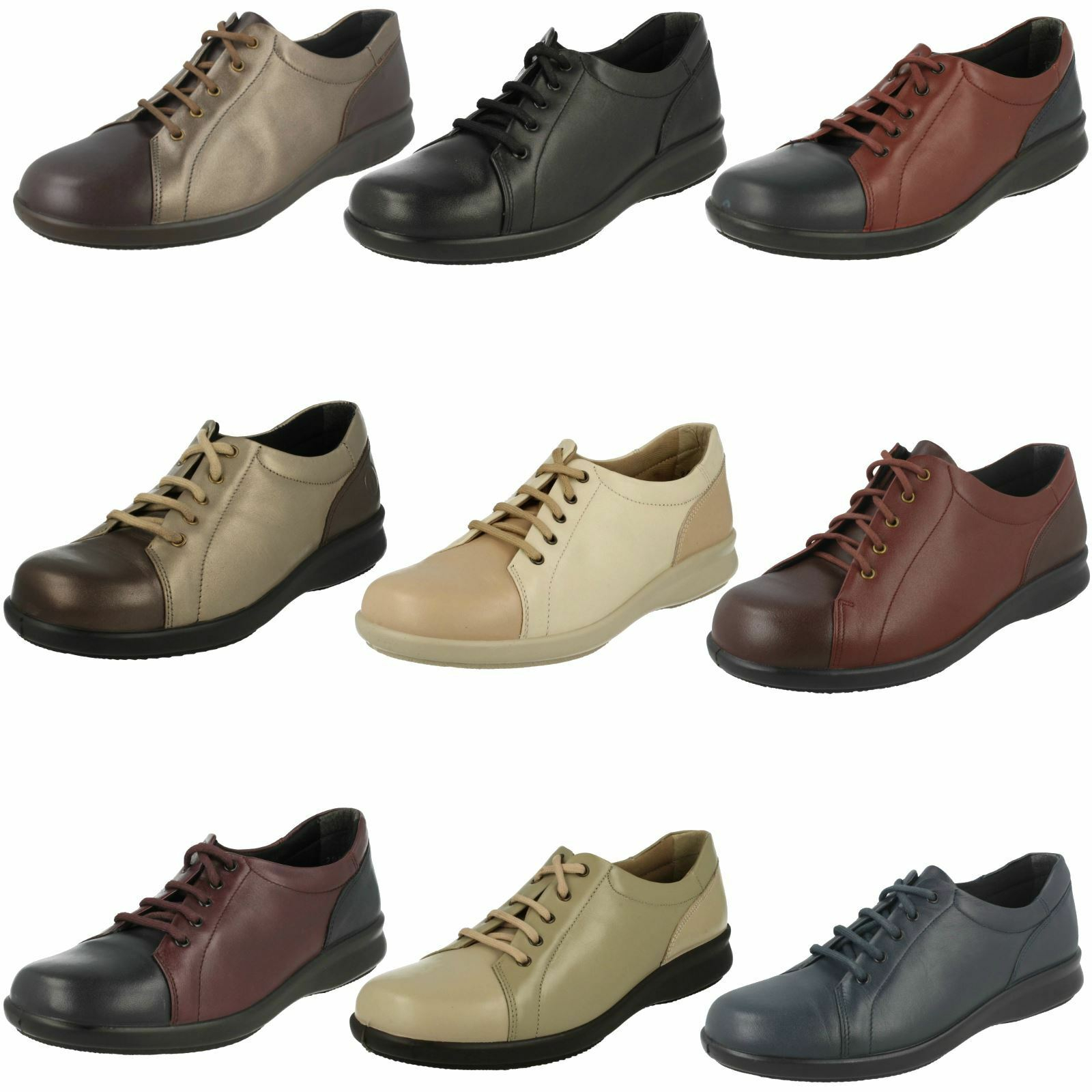 Femmes Easy B Lacets Chaussures-Phoebe