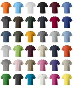 Hanes beefy t 6 1 oz cotton t shirt 5180 41 colors new for Hanes beefy t custom shirts