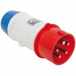 Cee Adaptateur Connecteur Sur Protection Contact, 3 Broches, 16a/230v, Ip44-afficher Le Titre D'origine Produits Vente Chaude