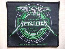 Aufnäher - Patch - Metallica - Beer Label - Pantera - Iron Maiden - Sepultura